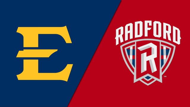 East Tennessee State vs. Radford (W Basketball)