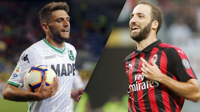 Sassuolo vs. AC Milan (Serie A)