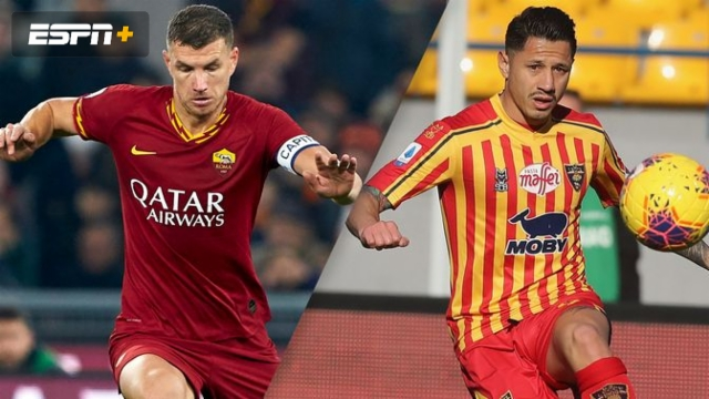 AS Roma vs. Lecce (Serie A)