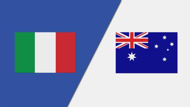 Italy vs. Australia