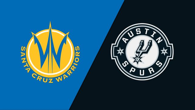 Santa Cruz Warriors vs. Austin Spurs