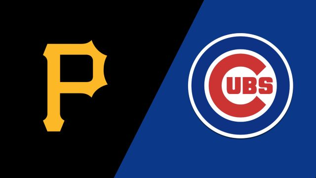 Pittsburgh Pirates vs. Chicago Cubs