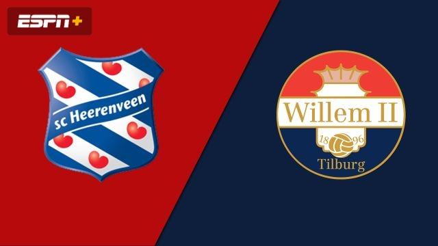 Heerenveen vs. Willem II (Eredivisie)
