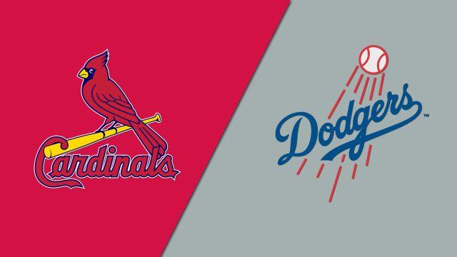 St. Louis Cardinals vs. Los Angeles Dodgers