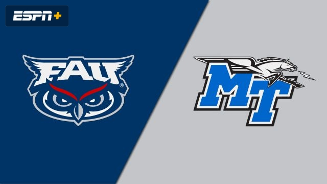 Florida Atlantic vs. Middle Tennessee (W Soccer)