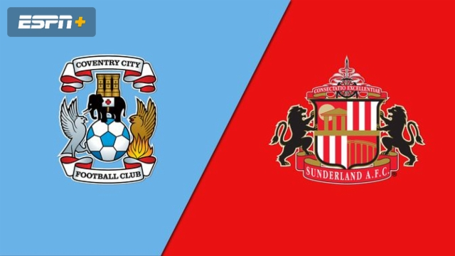 Coventry Town vs. Sunderland (English League One)