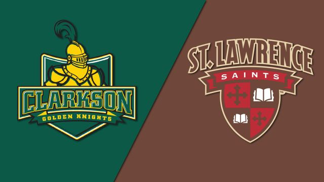 #1 Clarkson vs. St. Lawrence (W Hockey)