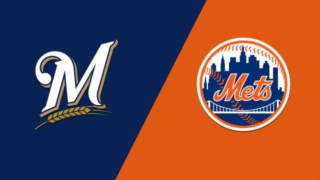 Milwaukee Brewers vs. New York Mets