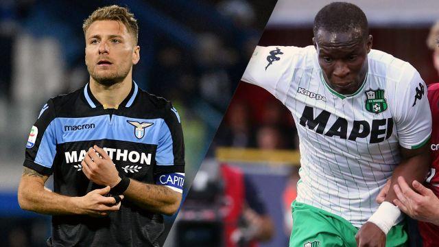 Lazio vs. Sassuolo (Serie A)