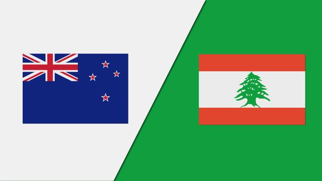 New Zealand vs. Lebanon (FIBA World Cup Qualifier)