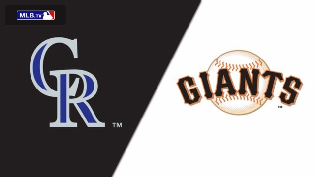 Colorado Rockies vs. San Francisco Giants