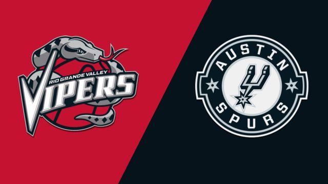 Rio Grande Valley Vipers vs. Austin Spurs