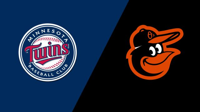 Minnesota Twins vs. Baltimore Orioles