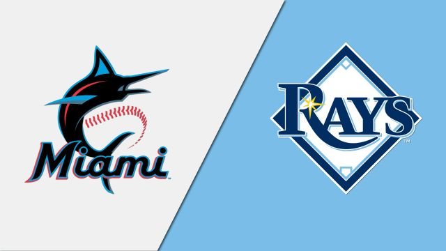 Miami Marlins vs. Tampa Bay Rays