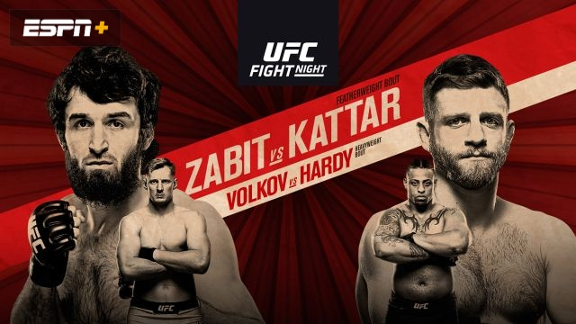 In Spanish - UFC Fight Night: Dos Santos vs. Volkov (Main Card)