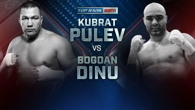 Pulev vs. Dinu Weigh-In