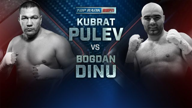 Pulev vs. Dinu Weigh-In