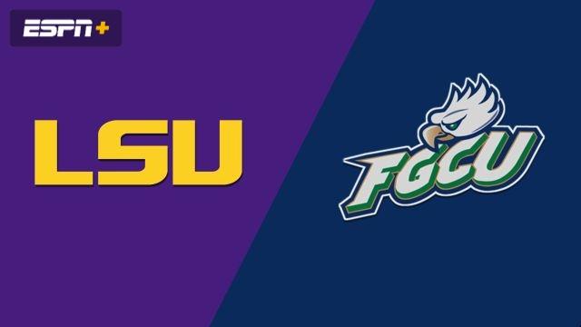 LSU vs. Florida Gulf Coast (W Basketball)