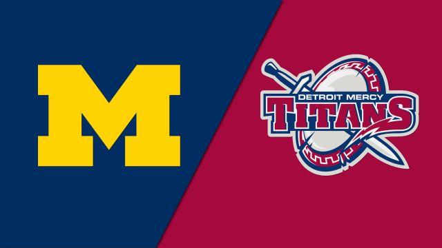 #8 Michigan vs. Detroit Mercy (W Lacrosse)