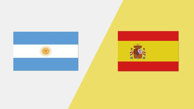 Argentina vs. Spain (2018 FIL World Lacrosse Championships)