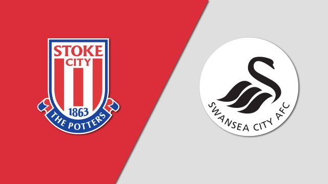 Stoke City vs. Swansea City (English League Championship)