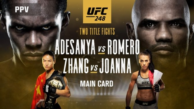 UFC 248: Adesanya vs. Romero (Main Card)