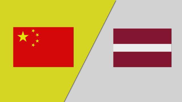 China vs. Latvia (Group Phase) (FIBA Women's World Cup)