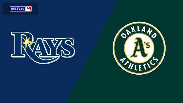 Tampa Bay Rays vs. Oakland Athletics