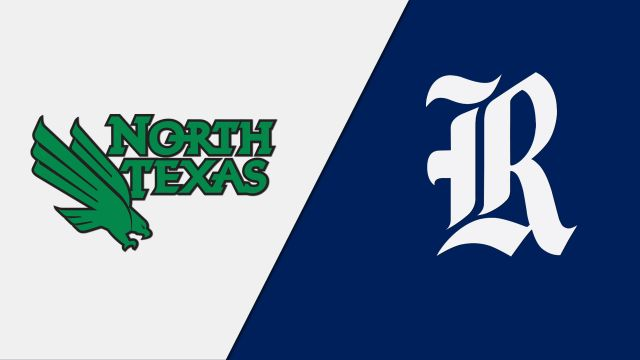 North Texas vs. Rice (Semifinal #1) (W Volleyball)