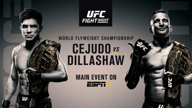 Henry Cejudo vs. TJ Dillashaw (Main Card)