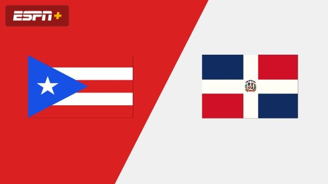 Puerto Rico vs. Dominican Republic (Group Phase)
