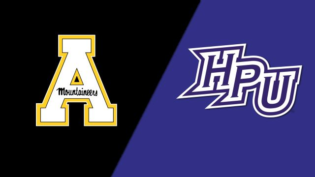 Appalachian State vs. High Point (M Soccer)