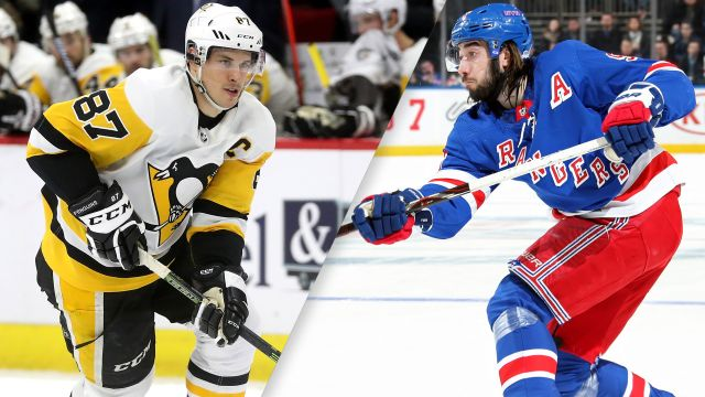 Pittsburgh Penguins vs. New York Rangers