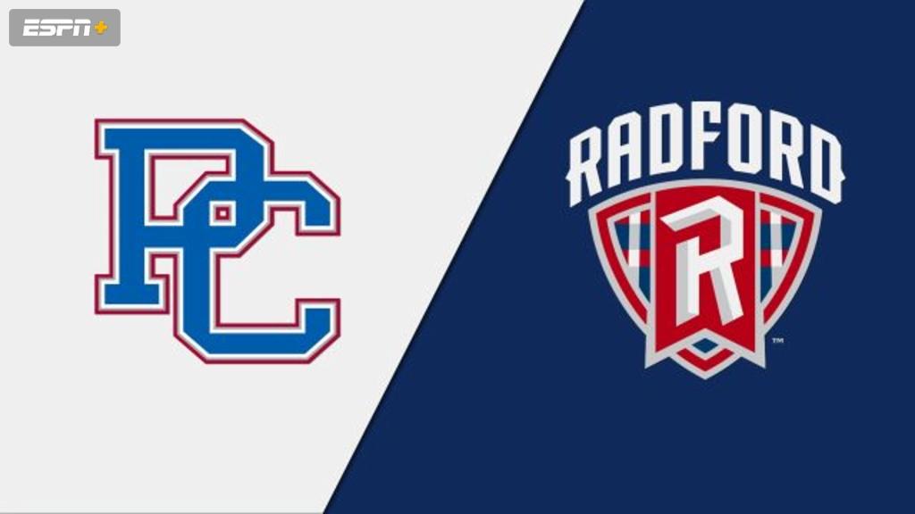 Presbyterian vs. Radford (M Basketball)