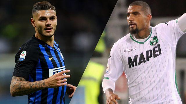 Internazionale vs. Sassuolo (Serie A)