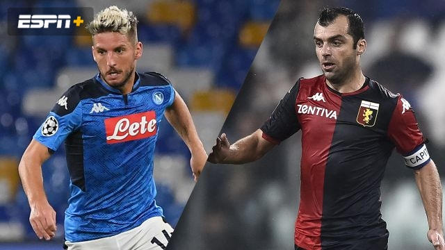 Napoli vs. Genoa (Serie A)