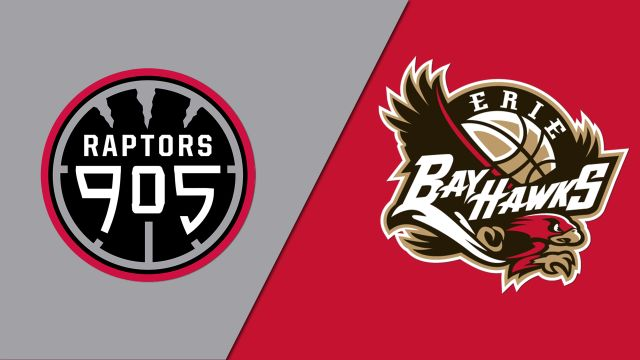 Raptors 905 vs. Erie BayHawks