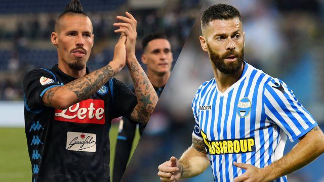 Napoli vs. SPAL
