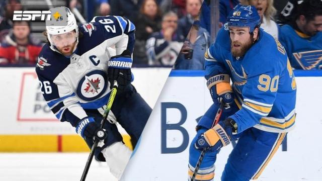 Winnipeg Jets vs. St. Louis Blues