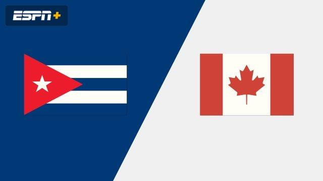 Cuba vs. Canada (Group Phase)