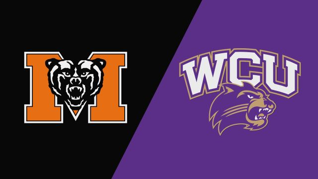 Mercer vs. Western Carolina (Baseball)