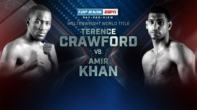 Top Rank Boxing on ESPN: Crawford vs. Khan Weigh-In