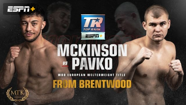 McKinson vs. Pavko Main Event