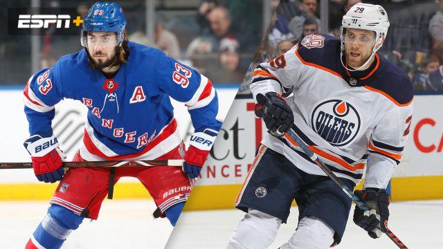 3aa632e924f New York Rangers vs. Edmonton Oilers