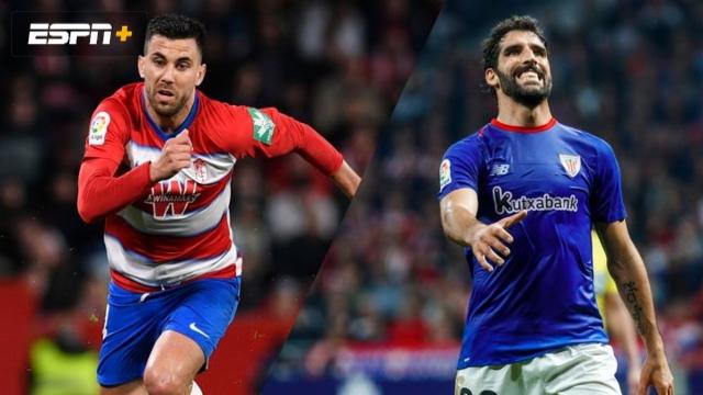 In Spanish-Granada vs. Athletic Bilbao (Semifinal - Partido de Vuelta) (Copa del Rey)