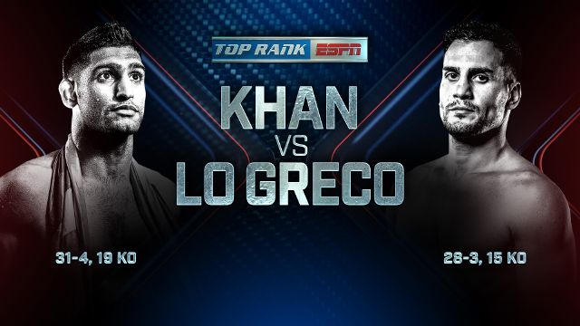 Amir Khan vs Phil Lo Greco
