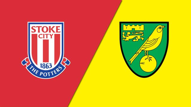 Stoke City vs. Norwich City (English League Championship)