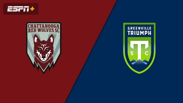 Chattanooga Red Wolves SC vs. Greenville Triumph SC (USL League One)