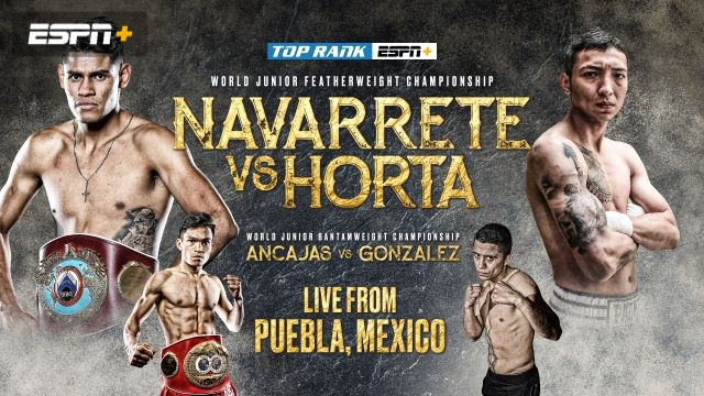 Navarrete vs. Horta (Main Card)