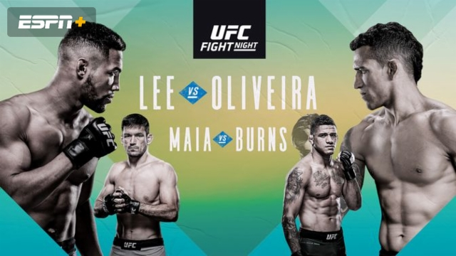 UFC Fight Night presented by U.S. Army: Lee vs. Oliveira